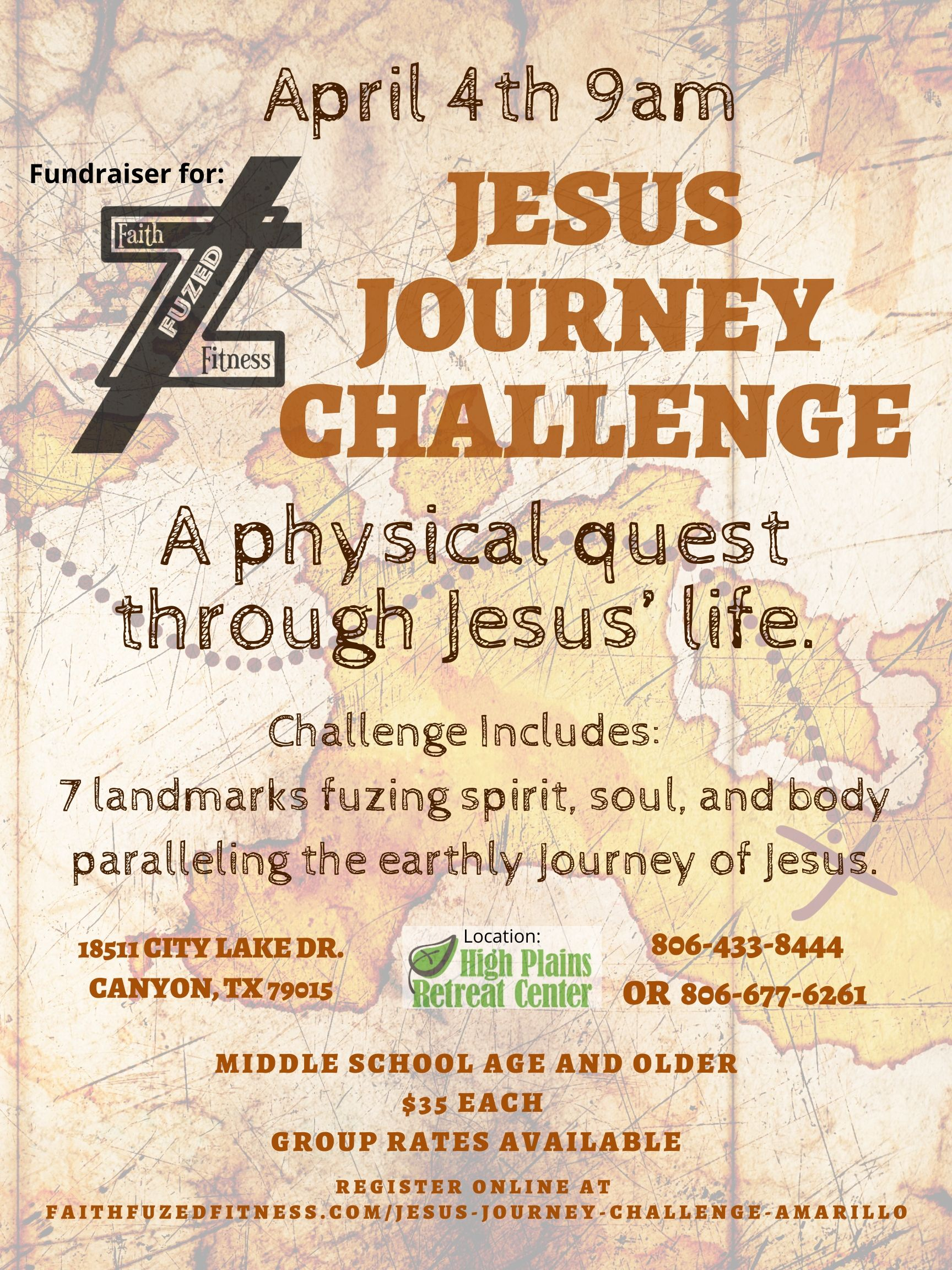 Jesus Journey Challenge Amarillo Obstacle Course