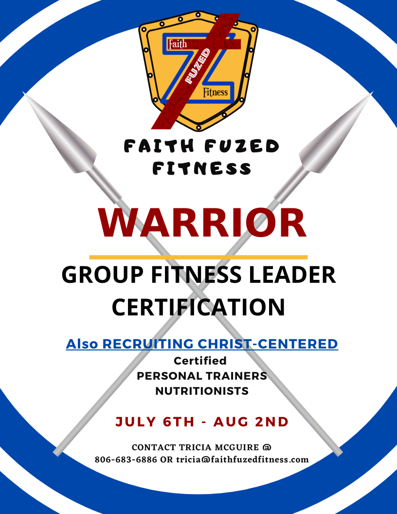 warrior training camp flier