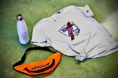 Faith Fuzed Fitness Shield Shirt