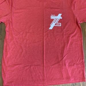Fuzed logo Shirt Red