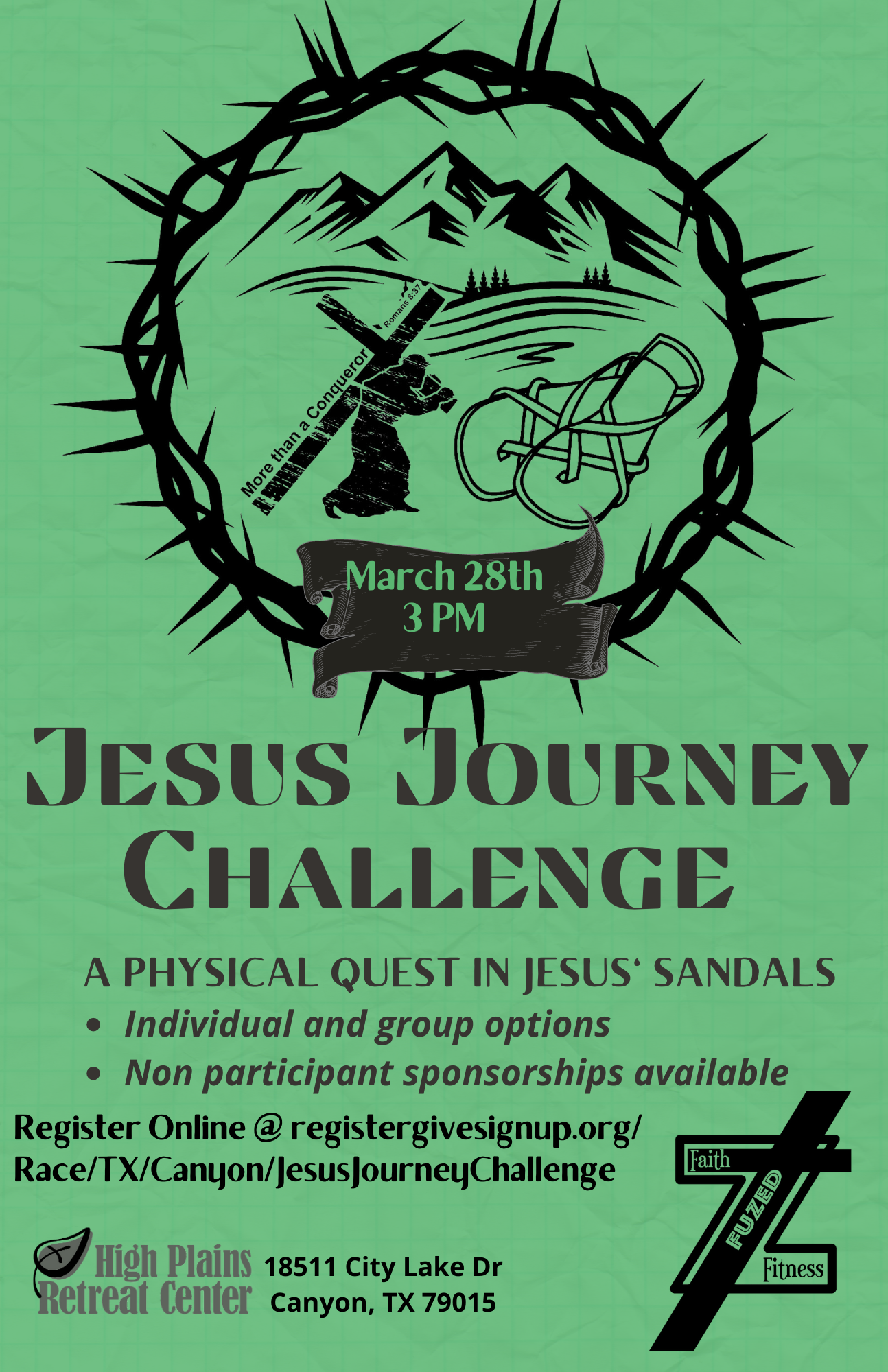 Jesus Journey Challenge Amarillo